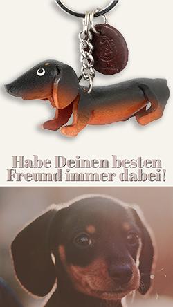 dackel dachshund schluesselanhaenger leder anhaenger sachen artikel geschenk monkimau