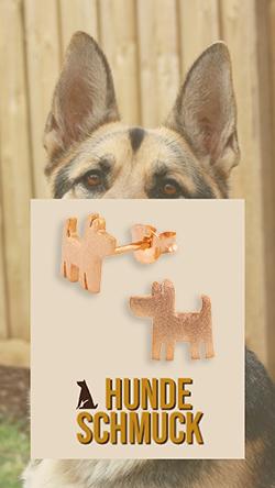 deutscher schaeferhund ohrringe schmuck silber artikel sachen geschenk monkimau