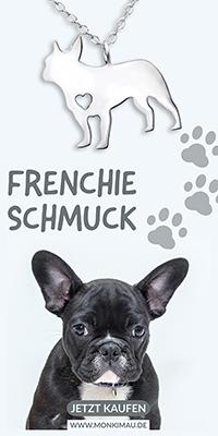franzoesische bulldogge hund bully frenchie schmuck kette halskette artikel sachen monkimau